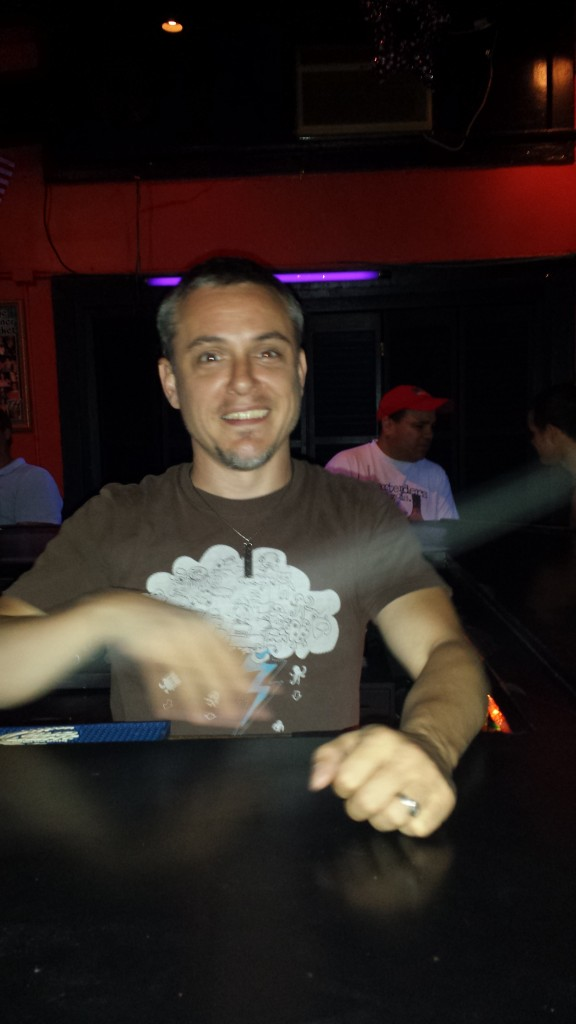 Anthony our Bartender