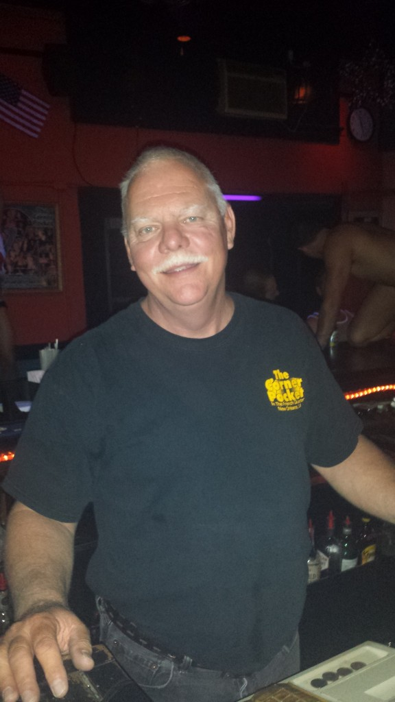 Bruce our bartender