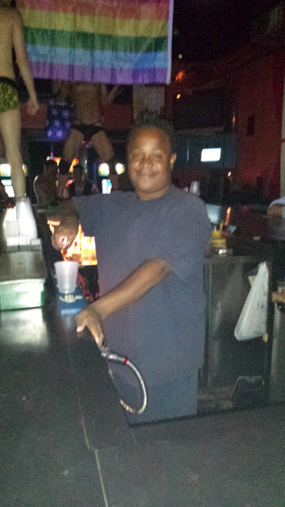 Ashlee our Bartender