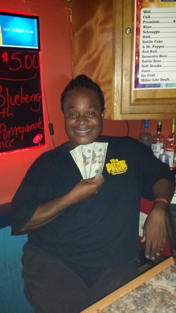 Ashlee our bartender